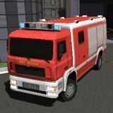 3D Fire Fighter Parking