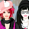 Rainy day with BFF dress up game